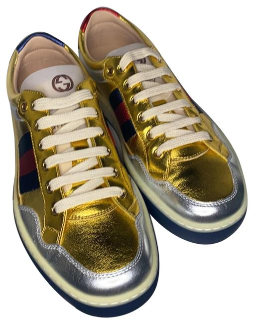 Item - Gold 494762 Men's Sneakers Size US 7.5 Regular (M, B)