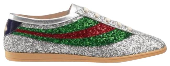 Item - Sliver Green and Red 483272 Men's Sneakers Size US 12 Regular (M, B)
