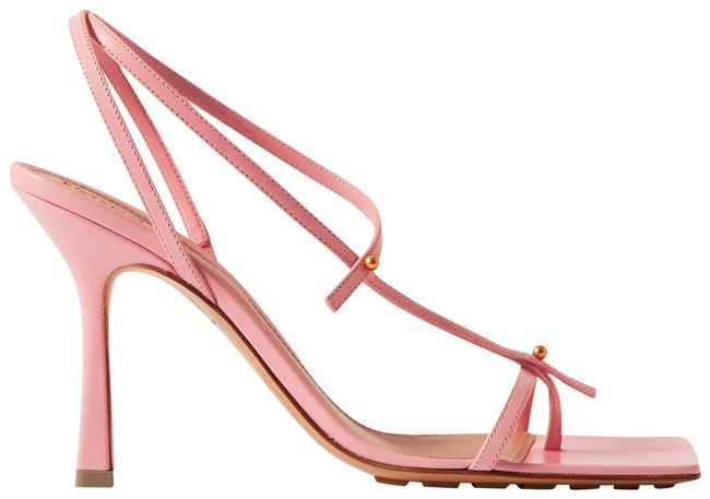 Item - Baby Pink Studded Leather Sandals Size EU 40 (Approx. US 10) Regular (M, B)