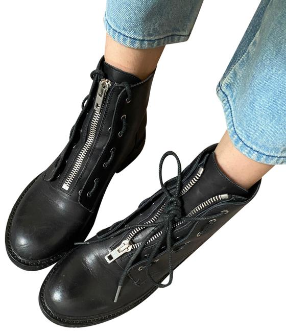 Item - Black Cannon Boots/Booties Size EU 38.5 (Approx. US 8.5) Regular (M, B)