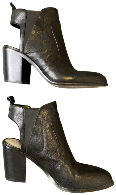 Item - Black Leban Leather Boots/Booties Size US 9 Regular (M, B)