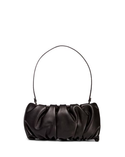 Item - Convertible Black Leather Clutch