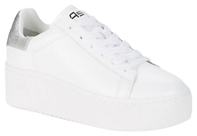 Item - White Cult Leather Sneakers Size EU 39 (Approx. US 9) Regular (M, B)