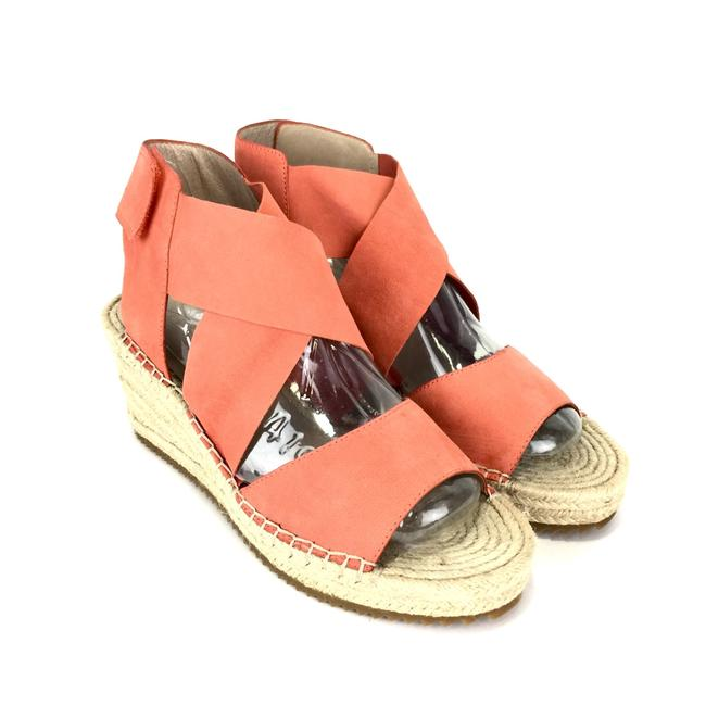 Item - Coral Nubuck Willow Espadrille Wedges Size US 9 Regular (M, B)