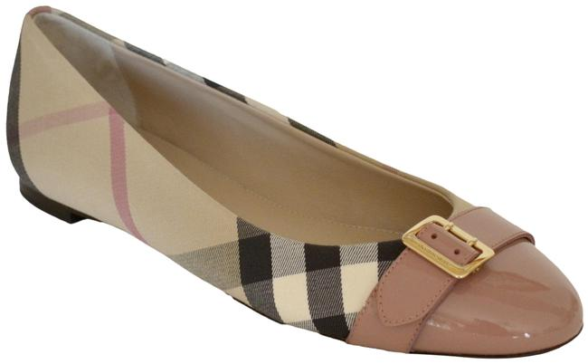 Item - Pink Heritage Check Avon Leather Flats Size US 8 Regular (M, B)