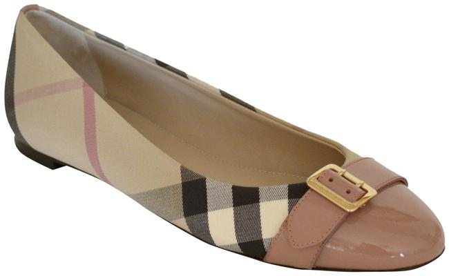 Item - Nude Pink Heritage Check Avon Leather Flats Size US 8 Regular (M, B)