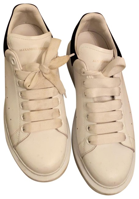 Item - White Black and Oversized Sneakers Size US 9 Regular (M, B)
