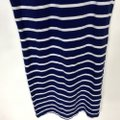 Forever 21 Blue S Sleeveless Bodycon Striped White Nautical Short Casual Dress Size 4 (S) Forever 21 Blue S Sleeveless Bodycon Striped White Nautical Short Casual Dress Size 4 (S) Image 4