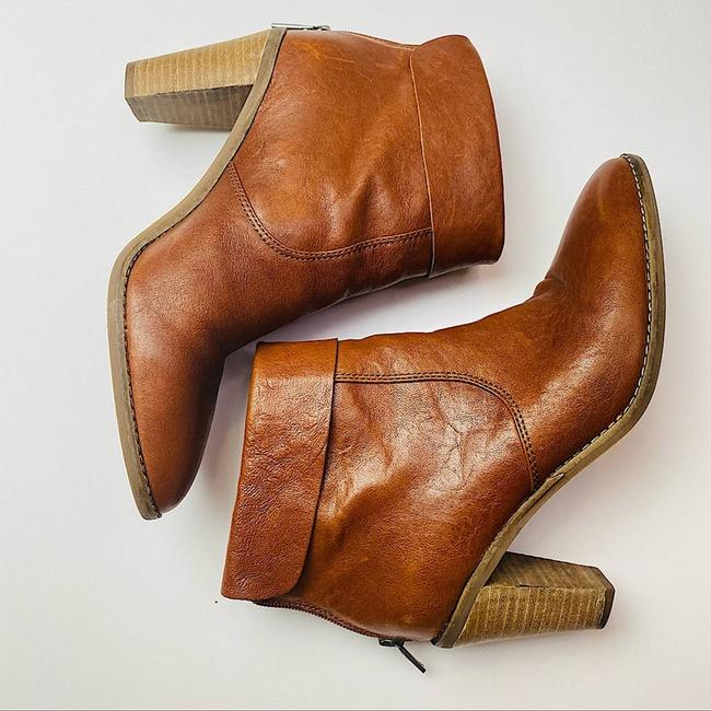 Item - Cognac Nycott Leather Cute Latte Boots/Booties Size US 8 Regular (M, B)