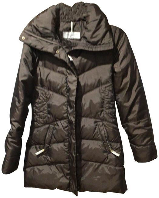 Item - Chocolate Brown Down Coat Size 4 (S)