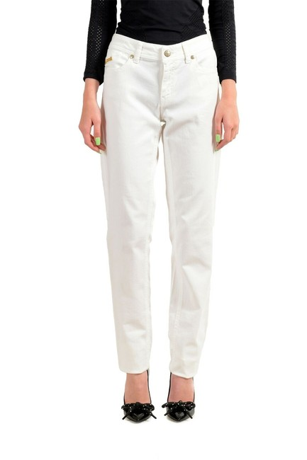 Item - White Women's Embroidered Straight Leg Jeans Size 28 (4, S)