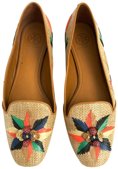 Item - Natural Multicolored Loafers Flats Size US 9 Regular (M, B)