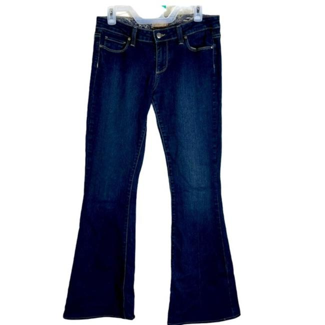 Item - Blue Medium Wash Canyon Flare Leg Jeans Size 29 (6, M)