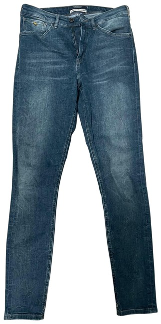 Item - Faded Wash Blue Knot My Problem Skinny Jeans Size 4 (S, 27)