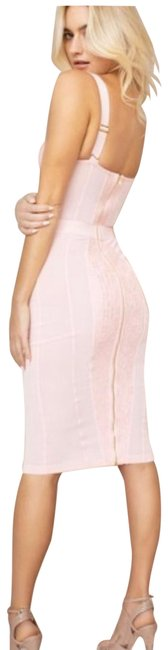 Item - Pink Mid-length Cocktail Dress Size 2 (XS)