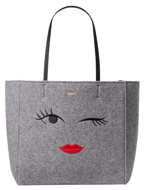 Item - Hallie New Post Drive Wink Wkru Grey Felt Tote