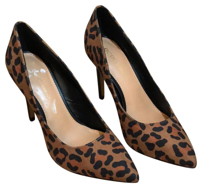 Item - Brown Leopard Stiletto Pumps Size US 5 Regular (M, B)