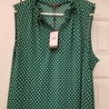 Adrianna Papell Top Green multi