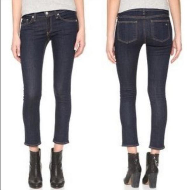 Item - Blue In Heritage Wash Capri/Cropped Jeans Size 25 (2, XS)