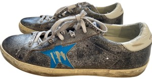 Golden Goose Deluxe Brand gray/silver Athletic