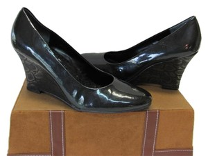 Diego di Lucca New Animal Design Heels 8.50m Black Wedges
