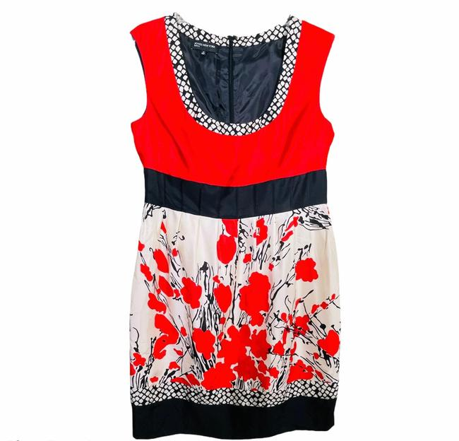Item - Red Roman Holiday Mid-length Night Out Dress Size 14 (L)