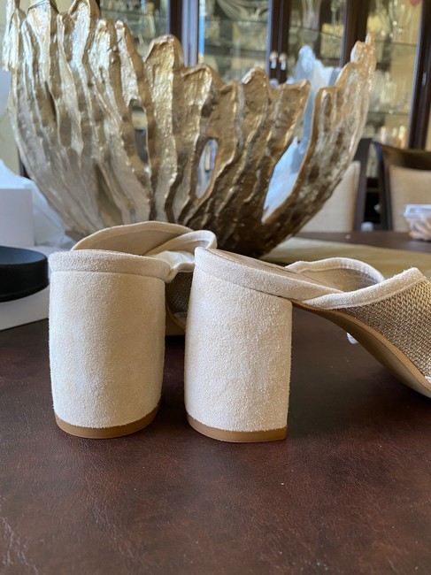 Coach Nude and Gold Sandals Mules/Slides Size US 8.5 Regular (M, B) Coach Nude and Gold Sandals Mules/Slides Size US 8.5 Regular (M, B) Image 8