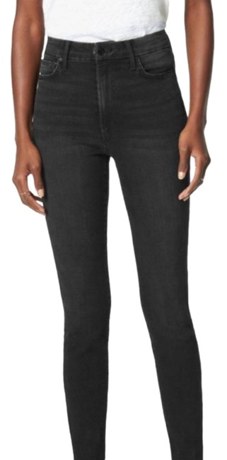 Item - Gray Black Dark Rinse The Charlie High Ankle Skinny Jeans Size 27 (4, S)