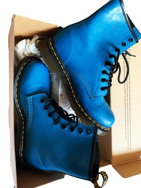 Item - Blue New Newer Used 1460 Ankle Designer Style Id: Dms146 Boots/Booties Size US 7 Regular (M, B)