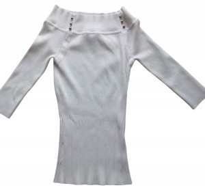 White House | Black Market 3/4 Sleeve Off-the-shoulder Sweater