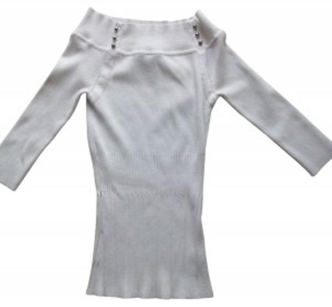 Preload https://item5.tradesy.com/images/white-house-black-market-34-sleeve-off-the-shoulder-sweaterpullover-size-2-xs-29034-0-0.jpg?width=400&height=650