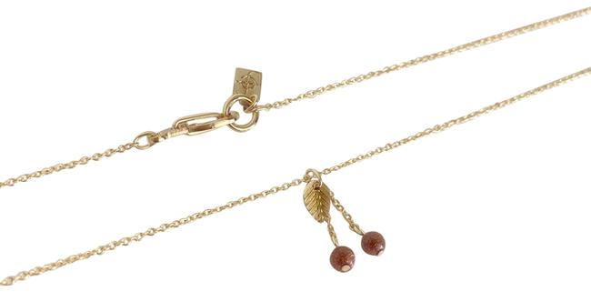 Item - Mini Goldstone Cherry Necklace
