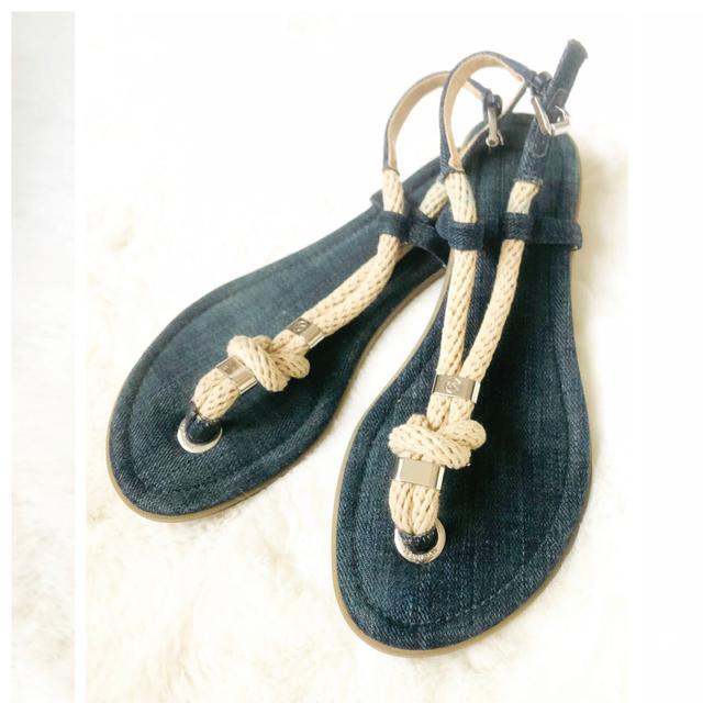 Item - Denim Rope S6 Runs Small. Only. Sandals Size US 6 Regular (M, B)
