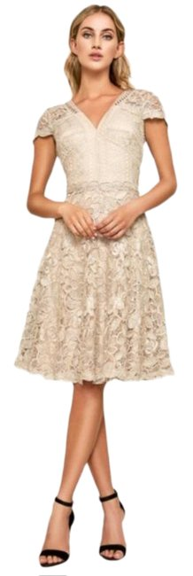 Item - Cream White Emily Fit Flare Lace Formal Dress Size 12 (L)