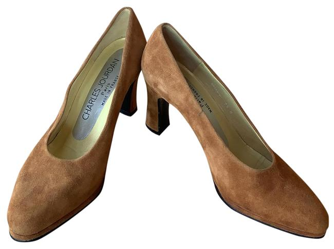 Item - Caramel Tan Suede By Pumps Size US 7.5 Regular (M, B)