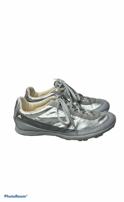 Item - Silver & Gray Reflective Sneakers Size US 5.5 Regular (M, B)