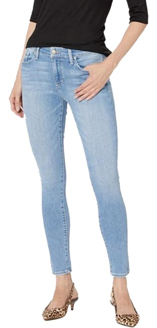 Item - Blue Light Wash The Icon Mid Rise Skinny Jeans Size 23 (00, XXS)