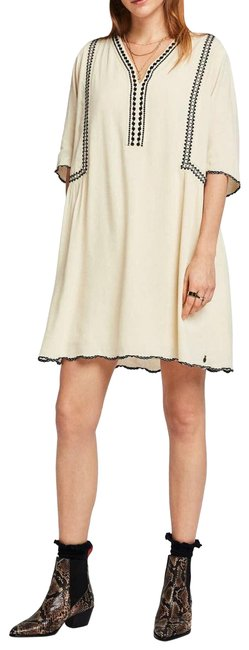 Item - Cream ✨nwt✨ Antique White Embroidered Cocktail Dress Size 6 (S)