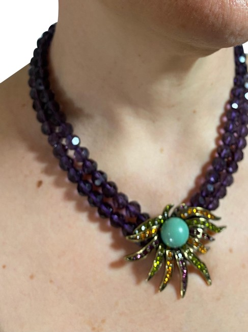 Item - Multicolor Necklace and Clip On Earrings Nrfb