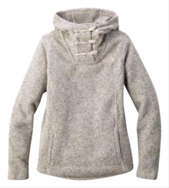 Item - Grey Crescent Hooded Pullover Activewear Size 8 (M)