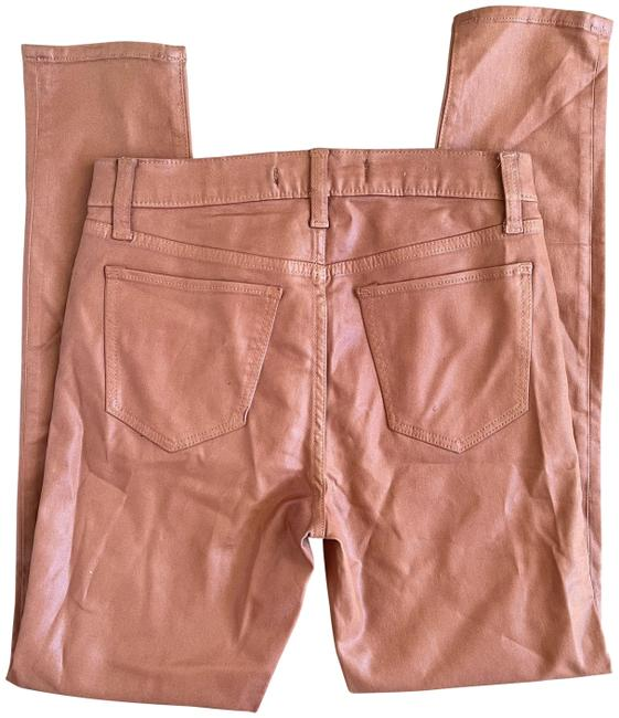 Item - Brown Coated Charlie Ankle In Butterscotch Straight Leg Jeans Size 26 (2, XS)