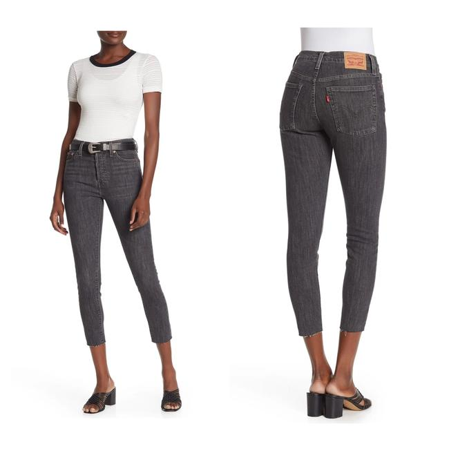 Item - Raven's Wing Light Wash Wedgie Ankle Skinny Jeans Size 0 (XS, 25)