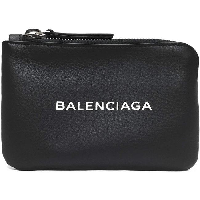 Item - New Everyday Pouch Black Leather Clutch