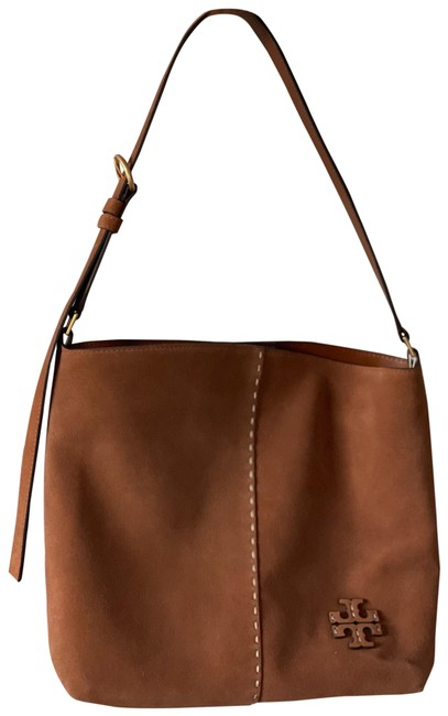 Item - Mcgraw Slouchy Camel Suede Leather Hobo Bag