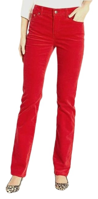 Item - Cherry Red Jeans Co. Modern Pants Size 6 (S, 28)