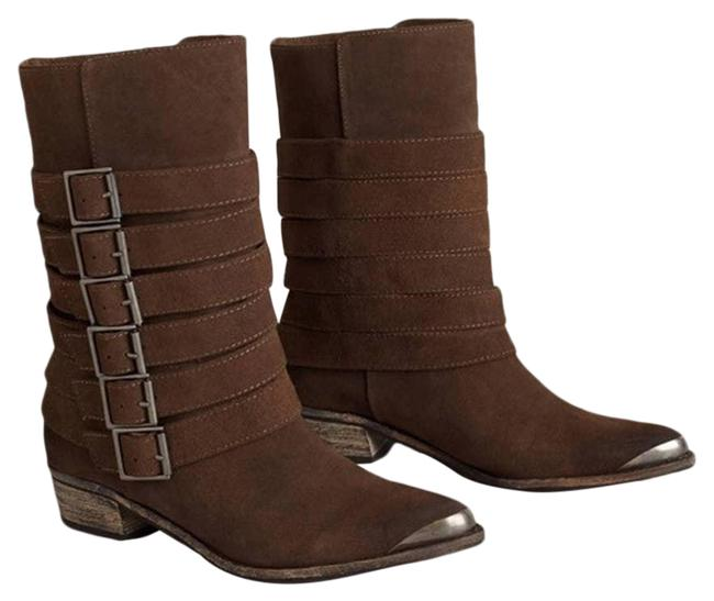 Item - Brown Anthropologie Pico Buckled Boots/Booties Size US 10 Regular (M, B)