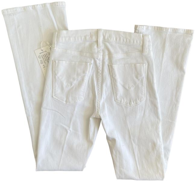 Item - White Light Wash Barbara High Rise Boot Cut Jeans Size 25 (2, XS)