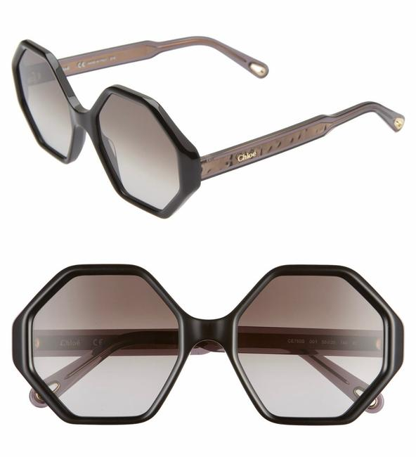 Item - Black Willow Geometric Sunglasses