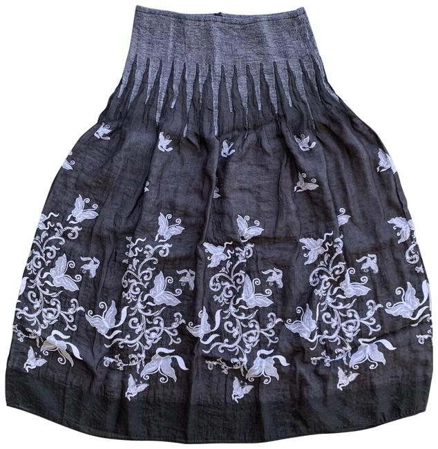 Item - Gray Mid-length Short Casual Dress Size OS (one size)