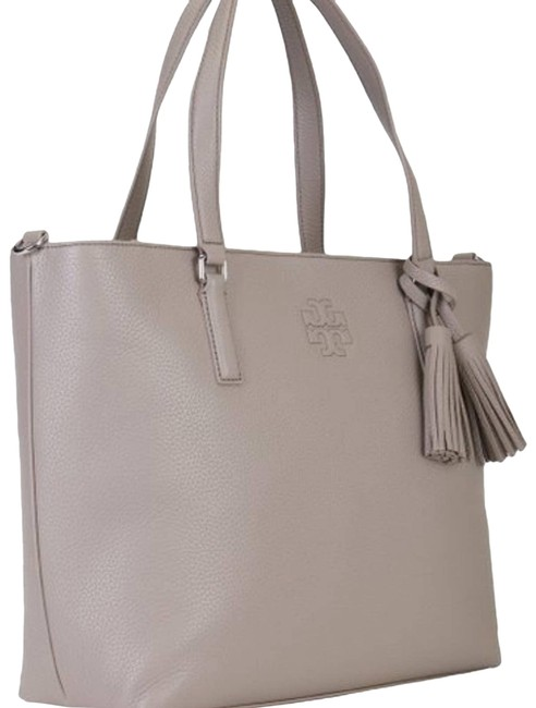 Item - Tote Bag Thea French Zip Leather Gray Satchel